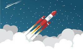 kosmos rakiet Zdjęcie Stock