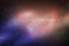 Kosmos spielt Beschaffenheit die Hauptrolle Stockbilder