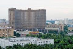 Kosmoshotel in Moskou Stock Fotografie