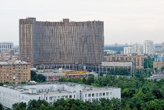 Kosmosu hotel w Moskwa Fotografia Stock