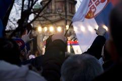 Kosovo es Serbia Imagen de archivo libre de regalías