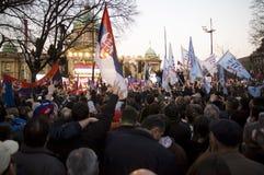 Kosovo es Serbia Imágenes de archivo libres de regalías