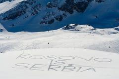 Kosovo is Serbia Royalty Free Stock Photo