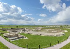 Kosovo - Ulpiana - ancient Roman city. Ulpiana was an ancient Roman city located in what is today Kosovo. It was also named Justiniana Secunda. Ulpiana is royalty free stock photography