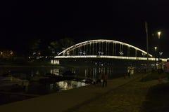 Kossuth bridge, Hungary, Gyor Royalty Free Stock Image