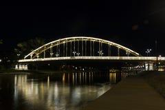 Kossuth bridge, Hungary, Gyor Stock Photography