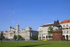 Kossuth Lajos kwadrat, Budapest, Węgry zdjęcia royalty free