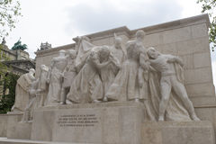 Kossuth Memorial - Budapest, Hungary Royalty Free Stock Photos