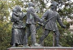 Kossuth monument in Budapest Royalty Free Stock Image