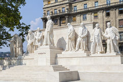 Kossuth Monument in Budapest Royalty Free Stock Images
