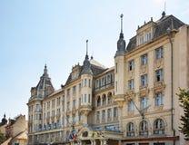 Kossuth square in Debrecen in Debrecen. Hungary.  Stock Photo