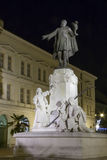 Kossuth statue in Szeged Royalty Free Stock Photography