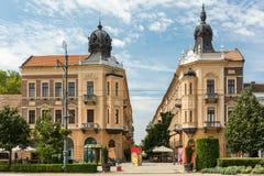 Kossuth Ter Square In Debrecen Stock Photo