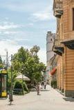Kossuth Ter Square In Debrecen Stock Images