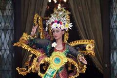 Kostüm Fräuleins Asien-pasific Stockfotos