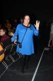 Kostümierte Leute am Bestimmungsort Star Trek in London-Docklands 20 Lizenzfreie Stockfotografie