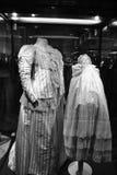 Kostümkrankenschwester und -kind Stockfotografie