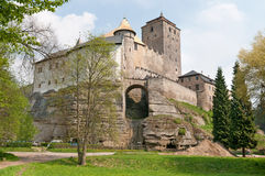 Kost castle (Hrad Kost) Stock Images