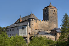 Kost castle. Famous Gothic castle - is located in the Jicin District of the Czech Republic Royalty Free Stock Photos