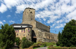 Kost Schloss Stockfotos