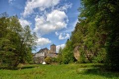 Kost slott, Tjeckien Fotografering för Bildbyråer