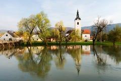 Kostanjevica na Krki historical town Stock Photography