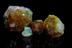 Kostbaar opaal royalty-vrije stock afbeelding