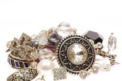 Kostbaar zilver Royalty-vrije Stock Foto
