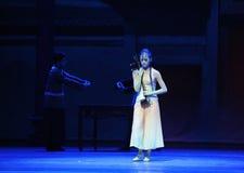 Kostbaarst de instrument-eerste handeling van de gebeurtenissen van dans drama-Shawan van het verleden stock fotografie