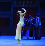 Kostbaarst de instrument-eerste handeling van de gebeurtenissen van dans drama-Shawan van het verleden royalty-vrije stock afbeeldingen
