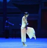 Kostbaarst de instrument-eerste handeling van de gebeurtenissen van dans drama-Shawan van het verleden stock foto's