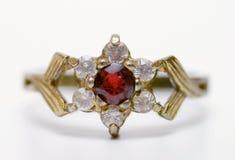 Kostbare Ring Royalty-vrije Stock Afbeeldingen