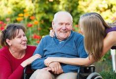 Kostbarer Familien-Moment Lizenzfreie Stockbilder