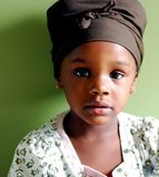 Kostbares Mädchen Lizenzfreies Stockfoto