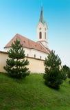 Kostel av St Michael Archangel, Svabenice Royaltyfri Fotografi