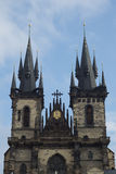 Kostel Matky Bozi pred Tynem, Czech Republic Stock Photography