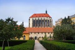 Kostel Panna Maria Snezne Fotografia Royalty Free