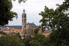 Kostel st. Jakuba in Kutna Hora Stock Images
