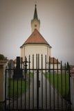 Kostel von St. Michael Archangel, Svabenice Lizenzfreie Stockbilder