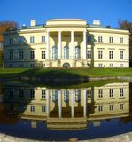 Kostelec nad Orlici - the Empire Castle Royalty Free Stock Images