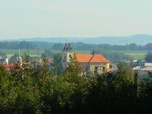 Kostelec nad Orlicí Stock Photo