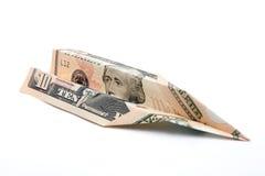 Kosten des Flugwesens Stockfoto