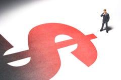 Kosten des Tätigens des Geschäfts Stockbilder