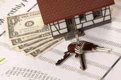 Kosten en Huis Stock Foto's