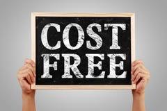 Kosten geben frei Lizenzfreies Stockfoto