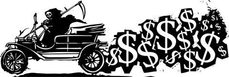 Kosten van een auto Stock Afbeeldingen