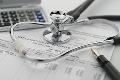 Kosten van gezondheidszorg Royalty-vrije Stock Afbeelding