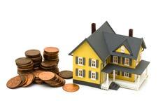 Kosten van huisvesting Stock Foto's