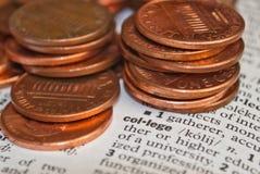 Kosten van onderwijs Royalty-vrije Stock Afbeelding