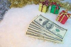 Kosten Weihnachten Stockbild